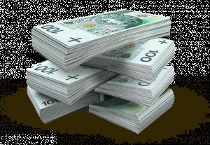Pieniądze 100 zł. Banknoty