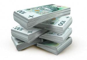 Obrazek przedstawiający banknoty 100 zł.